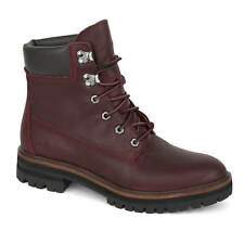 Timberland London Square 6 Inch Boots Wine Red Women's Boots Dark Port