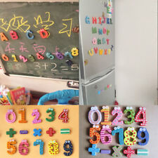 15/26pcs Alphabet Number Magnetic Wooden Letters Fridge Magnet Set Kid Learn Toy