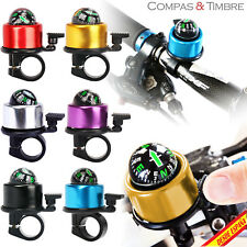 COMPASS BELL BIKE CYCLING BICYCLE HOOD NOTICE HANDLEBAR PITO SECURITY