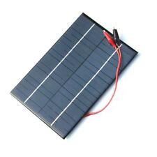 Portable 4.2W18V Solar Cell Polycrystalline Charge Solar Panel Crocodile Clip UP
