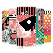 HEAD CASE DESIGNS PATTERN BLOCKING FASHION HARD BACK CASE FOR HTC PHONES 1