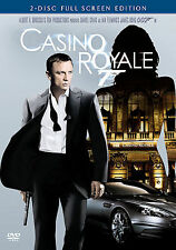 Casino Royale (DVD, 2007, 2-Disc Set, Full Screen Edition)