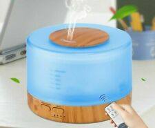 Air Humidifier Remote Control Essential Oil Diffuser Cool Mist Maker 500ML Tools