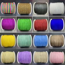 10yards 0.8mm Nylon Cord Rope Chinese Knot Macrame Cord Rope For Jewelry Making