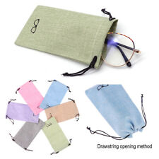 Lanyard Cloth Bags Eyeglasses Pouch Sunglasses Bag Optical Glasses Case