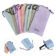 Eyewear Optical Glasses Case Lanyard Cloth Bags Eyeglasses Pouch Sunglasses Bag