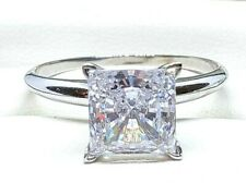 0.50CT-4.00CT Princess Cut Solitaire Engagement Wedding Ring REAL Solid 14k Gold