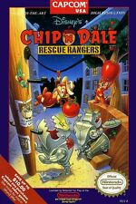 Chip and Dale Rescue Rangers Box Art Poster NES Multiple Sizes 11x17-24x36