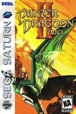 Panzer Dragoon II ZWEI Sega Saturn Box Art Poster Multiple Sizes 11x17-24x36