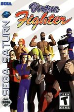 Virtua Fighter Sega Saturn Box Art Poster Multiple Sizes 11x17-24x36