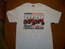MC CORMICK-DEERING FARMALL POWER M & H TRACTOR T-SHIRT