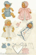 Vintage Baby Doll Clothing  Pattern #632