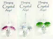 Hanging Crystal Guardian Angel approx 3cm