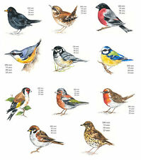 Bird Select Breed & Size Waterslide Ceramic Decals Bx