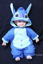 Baby Infant Blue Stitch Outfit Halloween Costume NB-18M