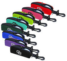 New Club Glove 3 Golf Balls Glove Clip-On Pouch - Select Color