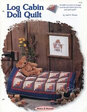 Log Cabin Doll Quilt, Creative Scrap Quilting quilt sewing pattern