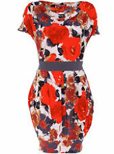 Dorothy Perkins Uttam London Orange floral Party Dress (NEW)-UK sizes 10-£28.00