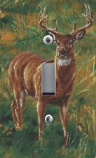 Light Switch Switchplate Wallplate & Outlet Covers with WILDLIFE DEER BUCK