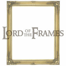 """2"""" Gold Shabby Chic Decorative Ornate Wood Swept Large Picture Frame 20x30"""""""