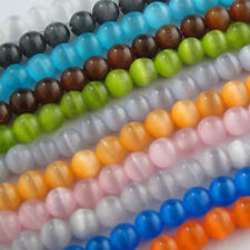 Cat Eye Gemstone Round Loose bead 11Color Or Mixed 4mm,6mm,8mm,10mm,12mm R307