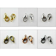 Lobster Parrot Clasp 6x10mm 7x12mm 8x14mm 9x16mm Gold Silver Bronze ect.