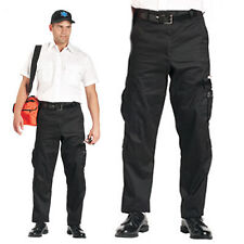 Black Paramedic EMT EMS First Responder 9 Pocket Uniform Pants  FREE SHIPPING