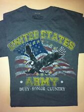 """UNITED STATES ARMY """"DUTY HONOR COUNTRY"""" Military T-shirt"""
