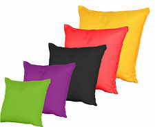 Scatter Floor Cushion COVERS ONLY Plain Colour Water & Stain Resistant by Gilda