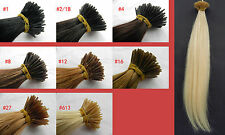 """Any Color18""""22""""26"""" 100% Human Hair AAAAAA Hair Extensions Free Shipping+Beads"""