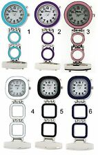 The Olivia Collection Backlight Doctor Mens Ladies Nurses Fob Watch Xmas Gift