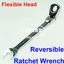 Flexible CR-V Reversible Combination Ratchet Wrench Ratcheting Socket Spanner UK