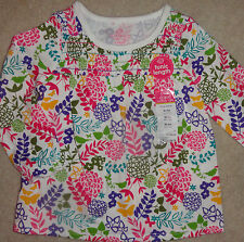 Baby Girls Shirt Okie Dokie Floral Tunic Top Sizes NB, 6M, 9M, 18 Months