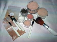 Mineral Foundation Makeup Set & Brushes Full Cover Acne Rosacea Bare Flawless