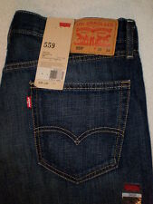LEVIS 559 RELAXED STRAIGHT FIT MENS JEANS SIZE 40 X 30.75 | NEW $58