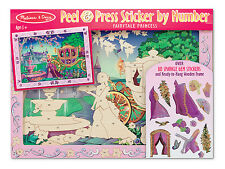 Melissa and Doug Peel & Press Sticker By Numbers! Fairytale #4009 and More!