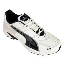 New Mens Puma Radon White Trainers Running Trainer Jogging Shoes Size UK 7-11