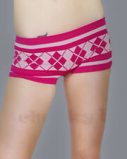 One size fits all S M L XL Very Sexy Pink Seamless No-show Boyshort Panty Brief