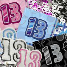 Blue Pink Black 13th Birthday Party Items Decorations All In 1 Listing PS