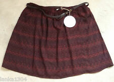 M&S Mulberry printed short Flared Skirt with a belt (NEW) UK sizes 16- £29.50