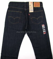 Levis 505 Jeans New Mens TUMBLED RIGID Straight Fit Zipper Fly - Many Sizes