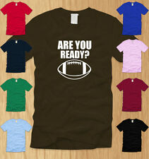 FOOTBALL - MENS T-SHIRT LARGE awesome sports quarterback nfl fantasy fan tee L