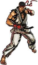 Choose Size- RYU Street Fighter Decal Removable WALL STICKER Home Decor Art Game