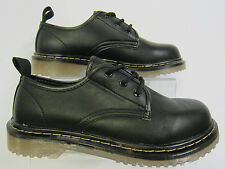 Spot on ladies Black synthetic lace up shoes X3013