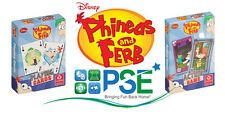 PHINEAS AND FERB ACTION CARD GAME DISNEY CHILDRENS PLAYING CARDS CARTAMUNDI NEW