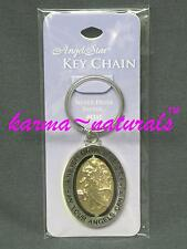 Angel Metal Keychain ANGEL STAR - Protection Courage Hope Miracles Faith Love