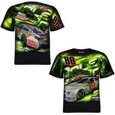 Dale Earnhardt Jr Chase Authentics #88 Diet Mt Dew Total Print Tee FREE SHIP