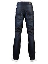 AUTHENTIC MENS NUDIE JEANS DENIM CO BLUE THIN FINN NIGHTSTER ORGANIC ITALY $250+
