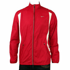 Mens Nike Dry FIT Red Running Training Breathable Microfibre Jacket Size S-XXL