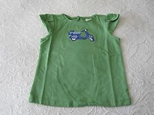 NWT Janie and Jack Classic Spring girls size 3 4 5 green moped top shirt